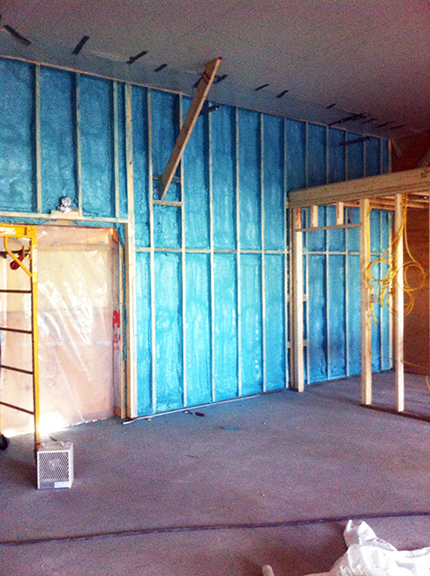 Insulation and hazmat remediation